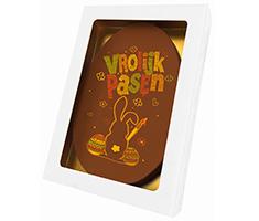 Paaskaart ovaal | Vrolijk Pasen