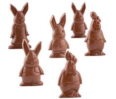 Chocolade Paasfiguren